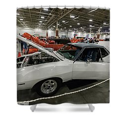 1972 Javelin Sst Shower Curtain by Randy Scherkenbach