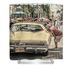 1973 Buick Riviera Shower Curtain