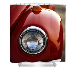 1973 Volkswagen Beetle Shower Curtain