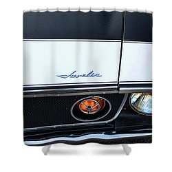 1974 Amc Javelin Front Shower Curtain by Paul Ward