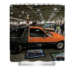 1975 Amc Pacer Shower Curtain by Randy Scherkenbach
