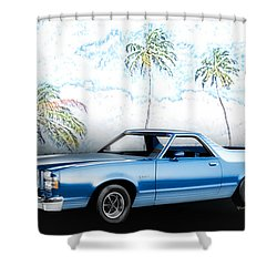 1979 Ranchero Gt 7th Generation 1977-1979 Shower Curtain