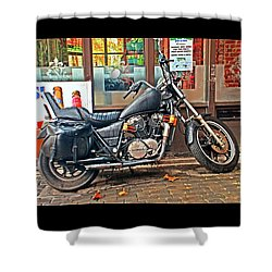 1983 Vt750 C Honda Shadow Shower Curtain