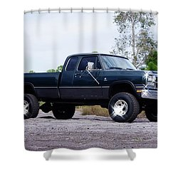 1993 Dodge W-250 Shower Curtain