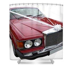 1997 Bentley Turbo R Shower Curtain