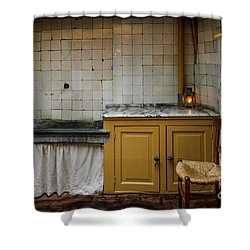 Shower Curtain featuring the photograph 19th Century Kitchen In Amsterdam by RicardMN Photography
