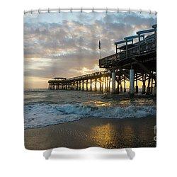 1st Sunrise 2017 Cocoa Beach Shower Curtain