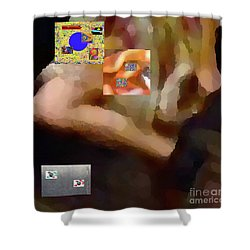 2-2-2-57m Shower Curtain