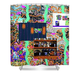 2-2-2057a Shower Curtain