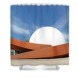 3d Theater Shower Curtain