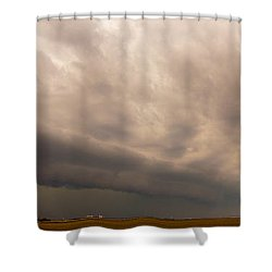 3rd Storm Chase Of 2015 Shower Curtain