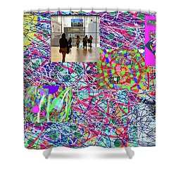2-4-2057h Shower Curtain