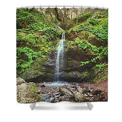 A Little Bit Of Love Shower Curtain by Laurie Search