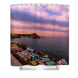 A Lot To See And Do Shower Curtain