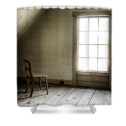 Abandoned   Shower Curtain by Diane Diederich