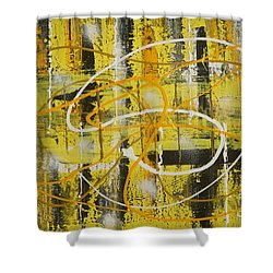 Abstract_untitled Shower Curtain