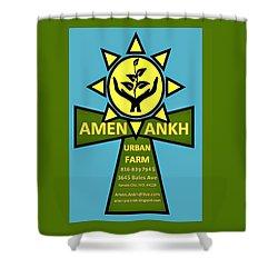 Amen Ankh Shower Curtain