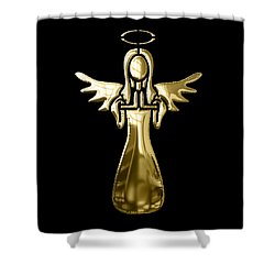 Angel Collection Shower Curtain