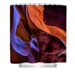 Antelope Canyon Colors Shower Curtain