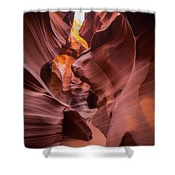 Antelope Canyon Shower Curtain by JR Photography
