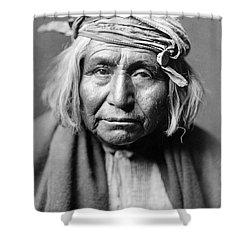 Apache Man, C1906 Shower Curtain by Granger