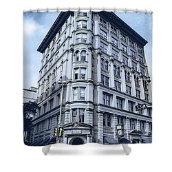 Archtectural Building 2 Shower Curtain