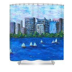 Art Study Shower Curtain