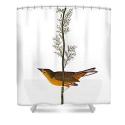 Audubon: Warbler, (1827) Shower Curtain by Granger
