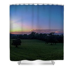 August Ridge Shower Curtain