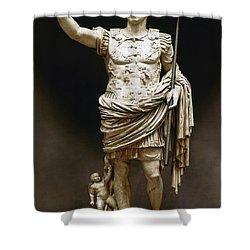 Augustus (63 B.c.-14 A.d.) Shower Curtain by Granger