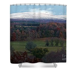 Autumn Into Winter  Shower Curtain