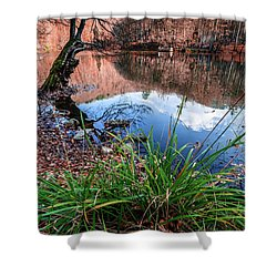 Shower Curtain featuring the photograph Autumn by Okan YILMAZ
