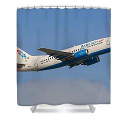 Bahamas Air Shower Curtain