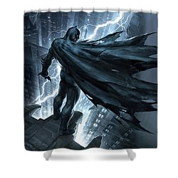 Batman The Dark Knight Returns 2012 Shower Curtain by Unknown