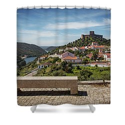 Shower Curtain featuring the photograph Belver Landscape by Carlos Caetano