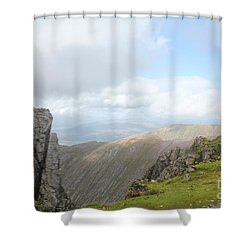 Shower Curtain featuring the photograph Ben Nevis by David Grant