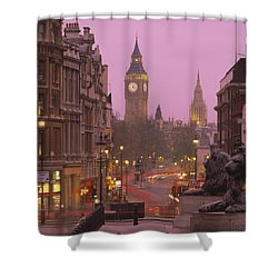 Big Ben London England Shower Curtain by Panoramic Images