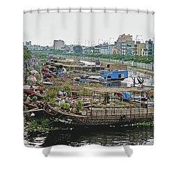 Binh Dong Market Shower Curtain