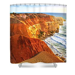 Blanche Point Shower Curtain by Bill  Robinson