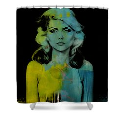 Blondie Debbie Harry Shower Curtain
