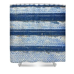 Blue Steps Shower Curtain