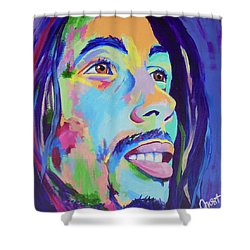 Bob Marley  Shower Curtain