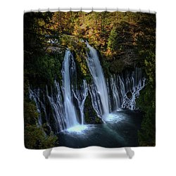 Burney Falls Shower Curtain by Kelly Wade