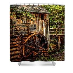 Cades Cove Mill Shower Curtain