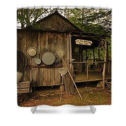 Cajun Cabin Shower Curtain