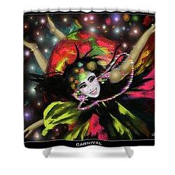 Carnival Shower Curtain