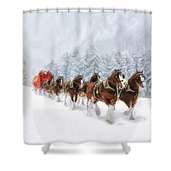 Carriage Shower Curtain