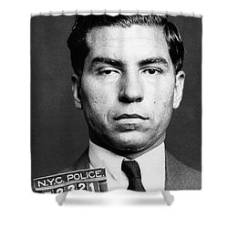 Charles Lucky Luciano Shower Curtain by Granger