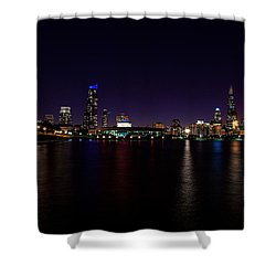 Chicago-skyline 2 Shower Curtain