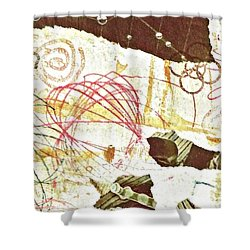 Collage Details Shower Curtain